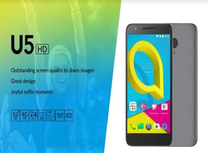 IT News Alert:Alcatel-Launches-U5HD-An-affordable-5-HD-smartphone-with-fantastic-value