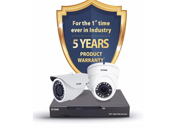 IT News Alert:D-Link-Extends-5-Years-Warranty-on-its-CCTV-products-Touts-First-in-Industry