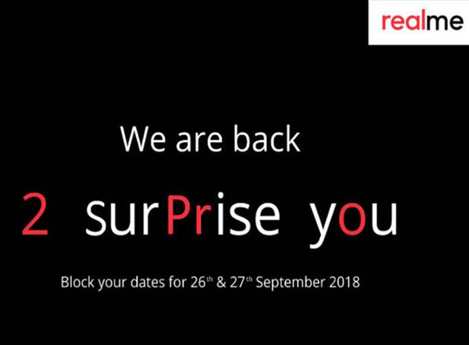 IT News Alert:Realme-2-Pro-to-launch-in-India-on-September-27th-press-invites-sent