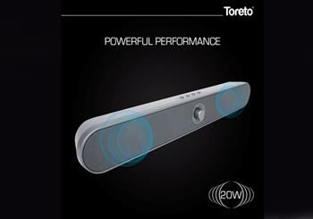 IT News Alert:Toreto-Launches-Stylish-Thump-Sound-Bar