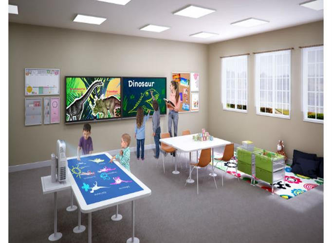 IT News Alert:benq-launches-interactive-flat-display-rm5501k-for-interactive-learning