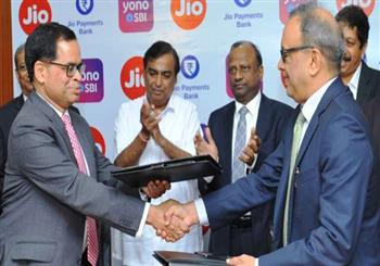 IT News Alert:sbi-partners-with-reliance-jio-to-start-video-banking-and-integrate-yono-platform-with-my-jio